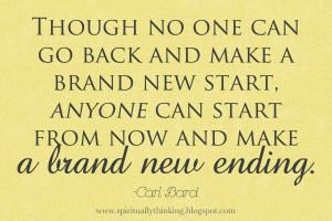 start….