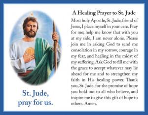 Healing Prayer to St. Jude