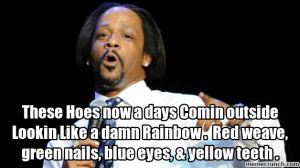 Generate a meme using Katt Williams