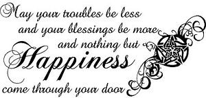 PENTAGRAM-WICCA-WICCAN-happiness-blessing-quote-wall-art-large-sticker ...