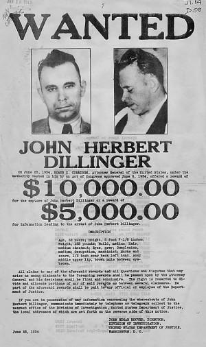 Grandma Encounters John Dillinger