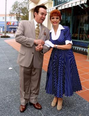 Lucy and Ricky Ricardo!