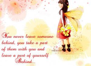 Leave Someone