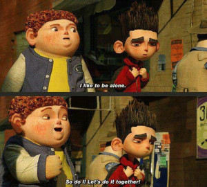 Let's be alone together :) ParaNorman