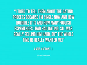 Andie Macdowell Quotes