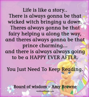 Quote : Life is like a story..