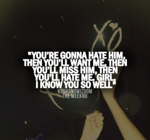 Back > Quotes For > The Weeknd Quotes And Sayings
