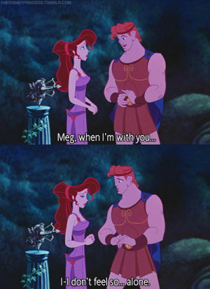 ... ago on 5 october 2010 8 53pm 1630 notes disney hercules megara quote