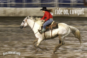 Cowgirl Quotes About Horses
