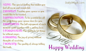 Happy Wedding Wishes Card: 3 Important Stages Of Life