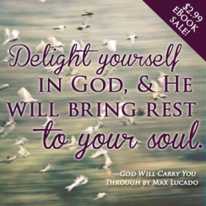 ... You Through by Max Lucado is on sale for $2.99 for a limited time