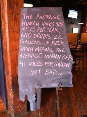 Beer Logic: Clever Sign Proves How Efficient We Are At Drinking (PHOTO ...