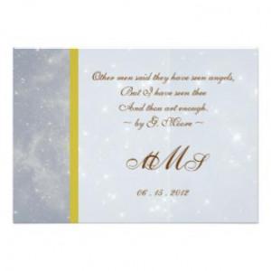 Romantic Wedding Invitation Quotes