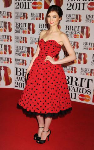 Sophie Ellis Bextor in Dolce&Gabbana at Brit Awards 2011
