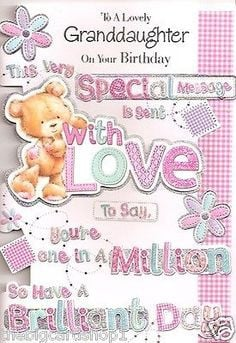 Birthday Cards For Granddaughters Free Granddaughter Birthday Cards HD