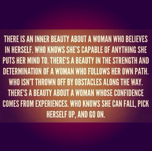 Inner Beauty Inspiration Wordsquot Quotes Strong Woman