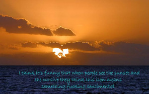 funny sunset picture by Crazy4evaaa - Photobucket