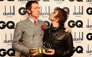 The party's over: Bradley Wiggins, pictured with Liam Gallagher at the ...