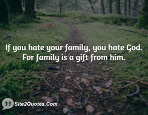 When Your Family Hates You Quotes