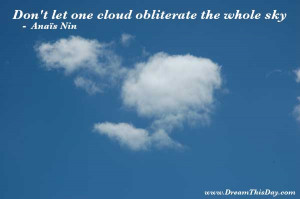 Inspirational Quotes about Cloud