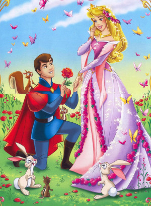 Disney Couples Princess Aurora and Prince Philip