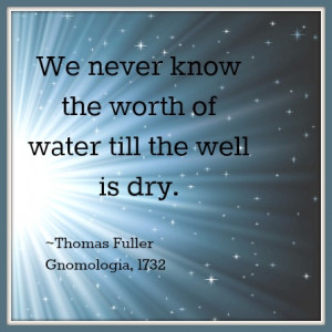 drinking water quote