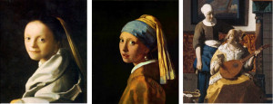 Just to show you the roots of all this: some Johannes Vermeer ...