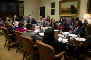 ... Director Meets with President Obama and Other African American Leaders