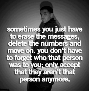 Sometimes you just have to erase the messages, delete the numbers and ...