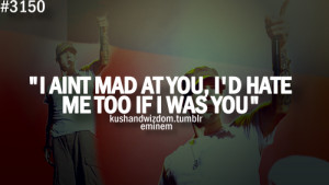 eminem, quotes, sayings, mad, hate, you
