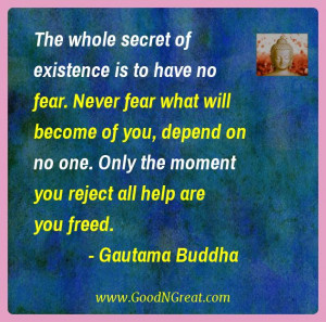 """... The mind is everything. What we think we become"""" – Gautama Buddha"""