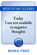 Ignoring negative thoughts