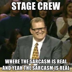 stage crew memes