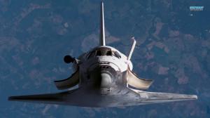 Space Shuttle Atlantis wallpaper 1366x768
