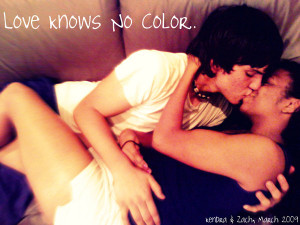 Love Knows No Color Love knows no color. by