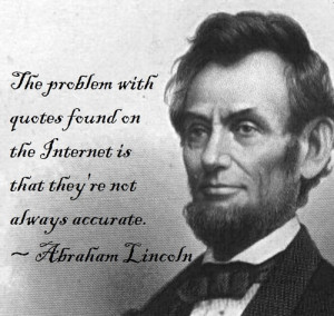 "pandeism:""The problem with quotes found on the Internet is that they ..."