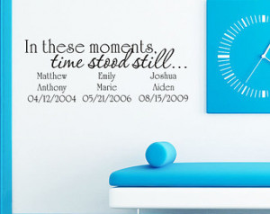 quotes moments in time dj wall decal quotes art jr262