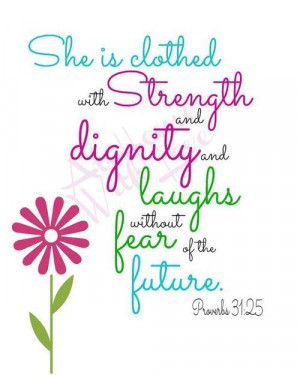 ... Teen Girls Rooms, Proverbs31Woman, Quote, Bible Verses, Proverbs 31 25
