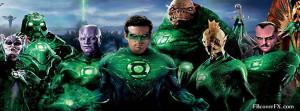 Green Lantern 19 Facebook Cover