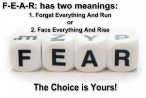Fear - Thoughtfull quotes Picture
