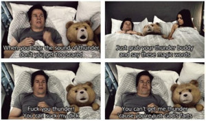 Ted...the thunder song...great movie!