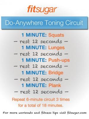 Circuit Training Workout Ideas