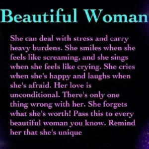 Ovarian Cancer Awareness ~ Beautiful Woman