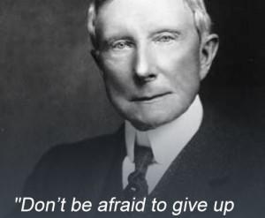 John Rockefeller quote