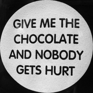 addicted to chocolate and sugar. OK, now I've admitted it. I feel ...