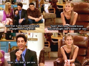Joey And Ross Friends Show Funny...