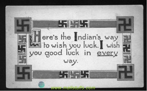 Swastika - Good luck emblem of ancient america