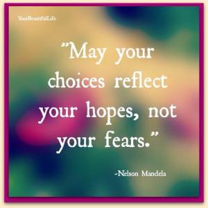 Make good choices.....