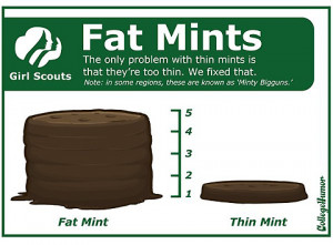 girl scout cookies funny