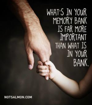 Karen Salmansohn , What's in your memory bank is far more important ...